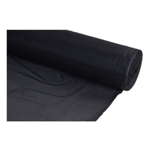 "54"" Black Polyester Lining Cloth 150m Roll"